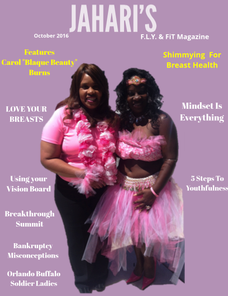 Jahari's F.L.Y. & FiT Magazine Oct.2016.