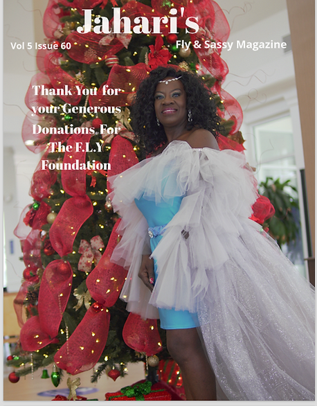 Jahari Fly Magazine Cover December 2020.