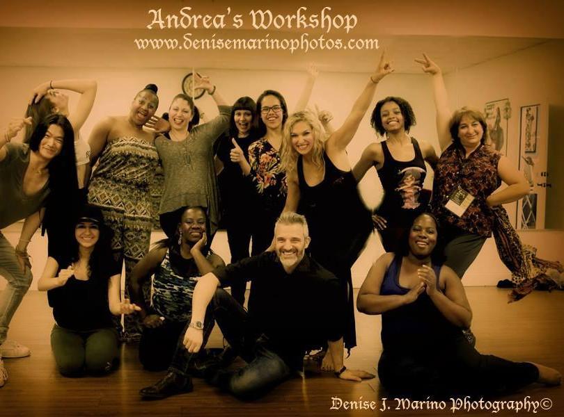 Andrea Power duo workshop