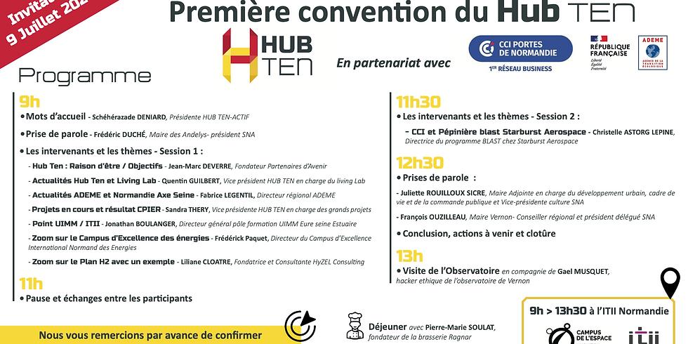Première Convention Hub TEN