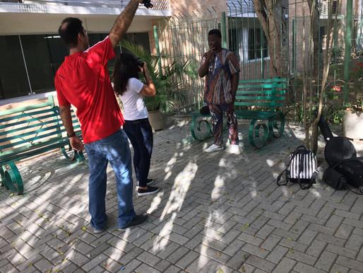 Conexão África: A produção do perfil jornalístico com Consolat