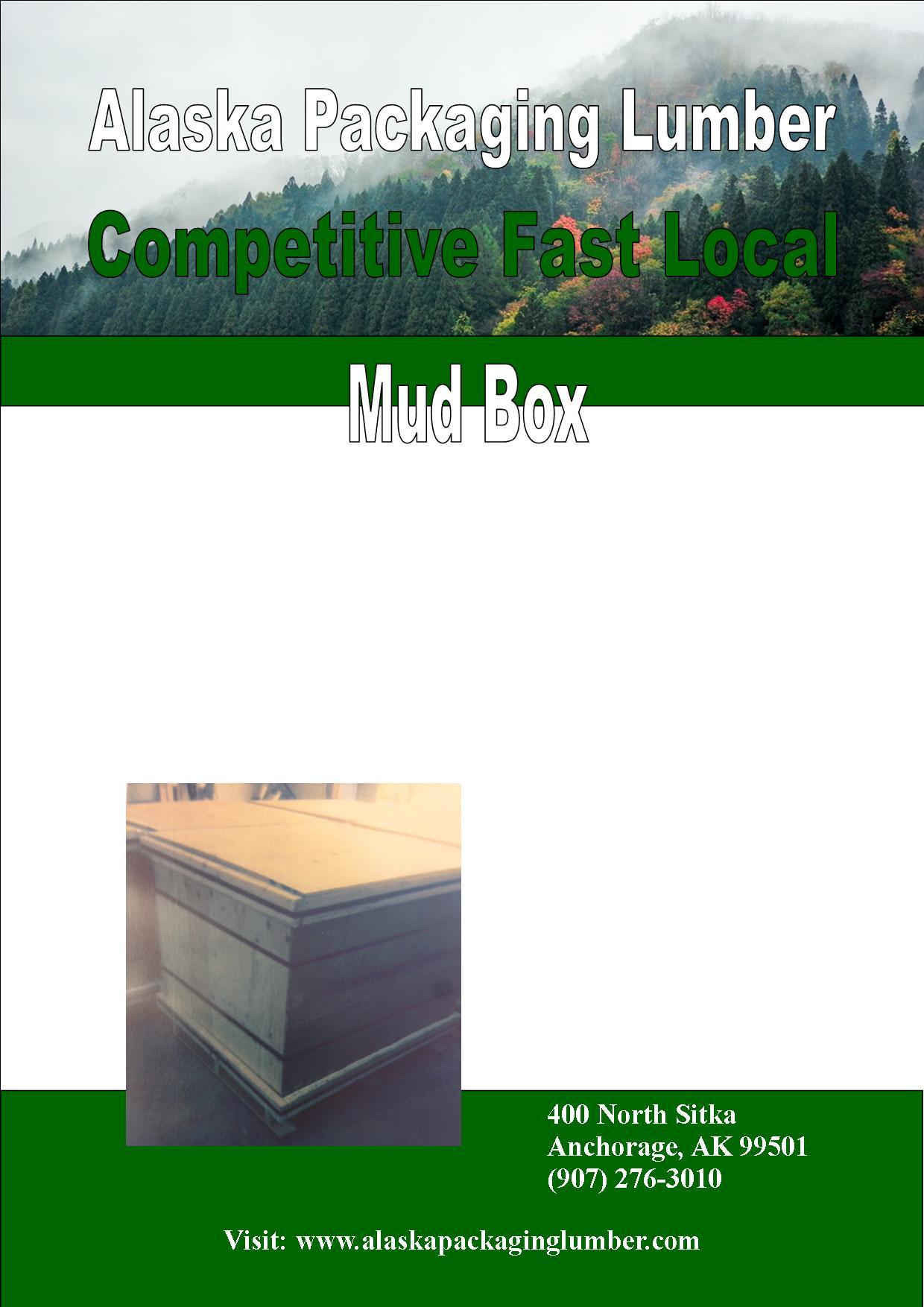 Green Portrait Mud Box
