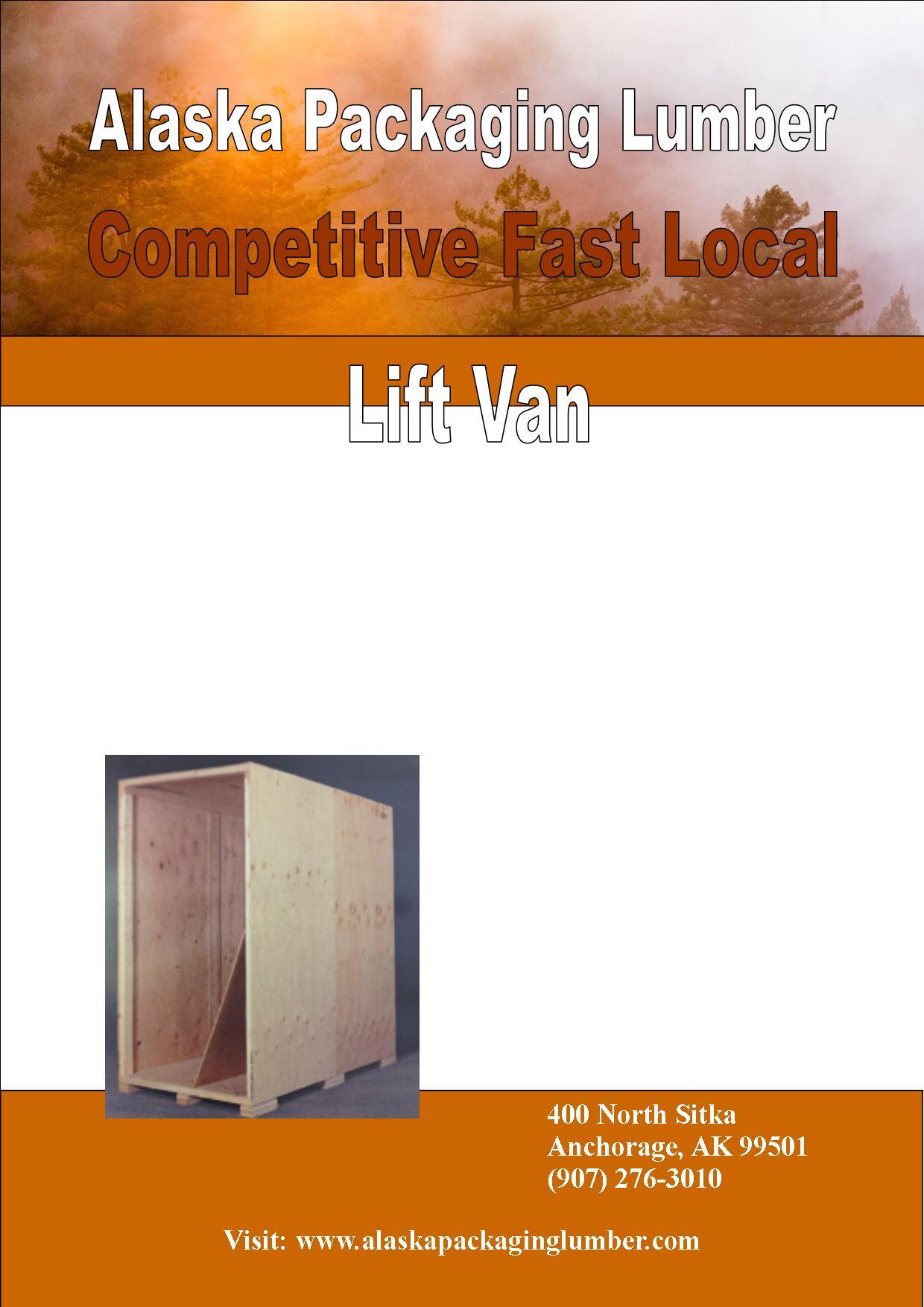 Rust Portrait Lift Van