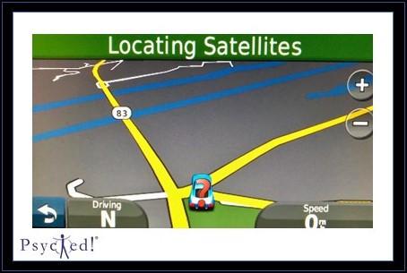Locating Satellites ...