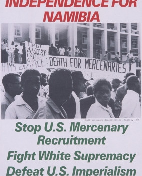 103. Victory to SWAPO Independence for Namibia