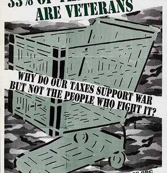 148. 33% of The Homeless Are Veterans
