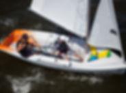 C420, Sailboat, sailing, Zim, Cleveland, Dinghy Sailing
