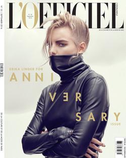 COVER L'OFFICIEL SEPTEMBER ISSUE