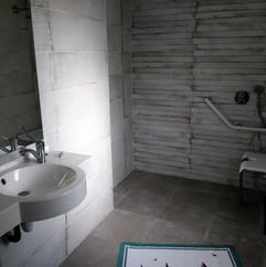 salle de bain villa baie