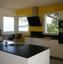 cuisine villa de la baie