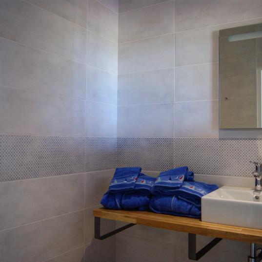 salle de bain villa de la baie
