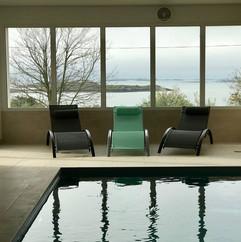 piscine villa de la baie