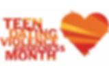 Teen Dating Violence Awareness Month logo