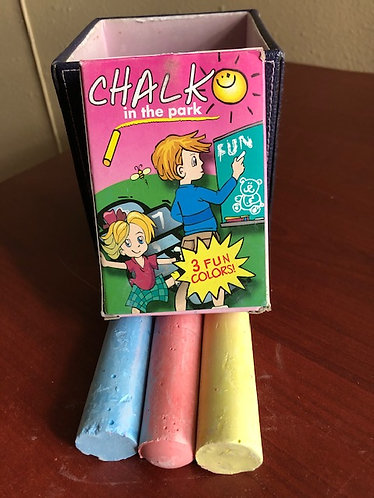 3 Piece Jumbo Chalk Set