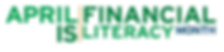 Financial Literacy Month logo