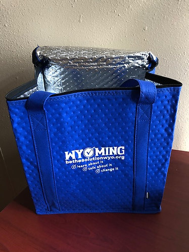 Zippered Insulated Grocery Tote