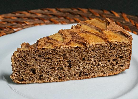 Torta bolo de maçã