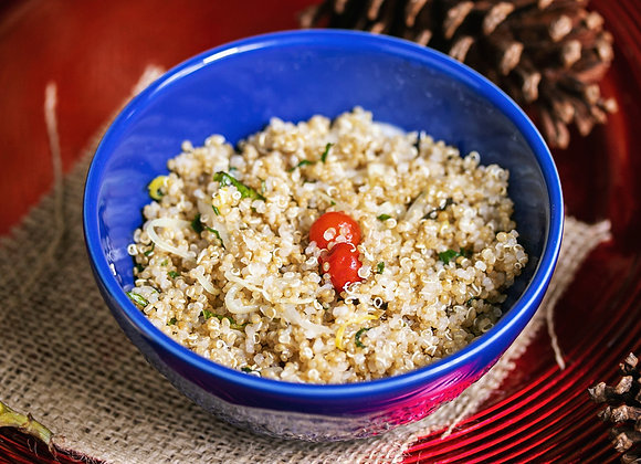 Salada de Quinoa com ervas