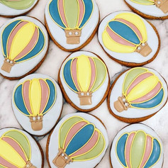 Up and away, birthday cookies #baublebak