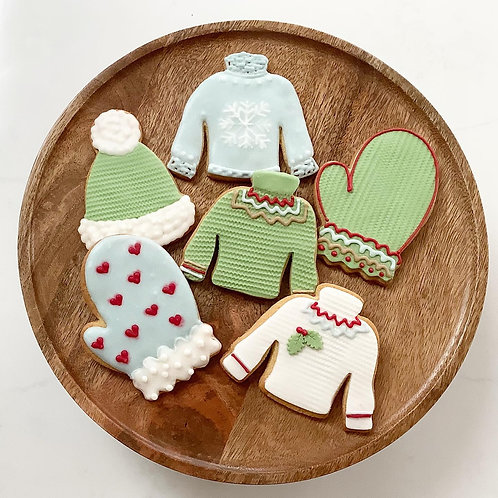 Cosy Knit cookies