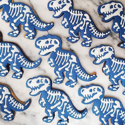 Dinosaur Skeleton Biscuits