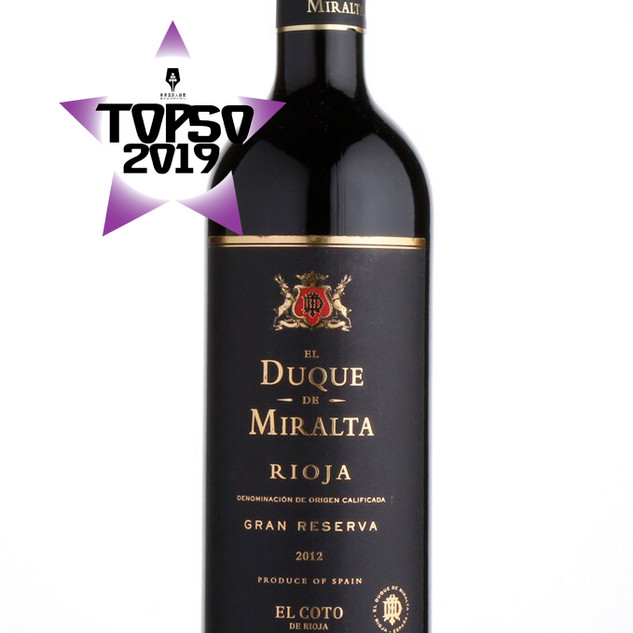 El Duque de Miralta Rioja Gran Reserva 2012