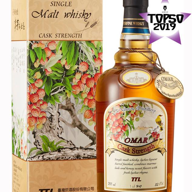 Omar Single Malt Whisky Cask Strength(Lychee Liqueur Cask)