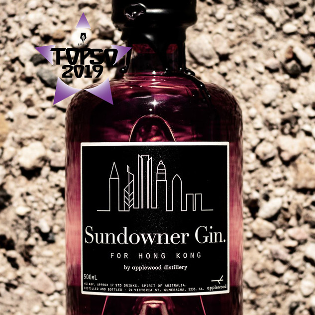 Sundowner Gin for Hong Kong