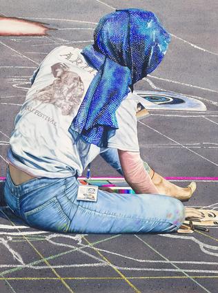 Kathy Simon-McDonald The Chalk Artist XII 22x28 trans nfs.webp