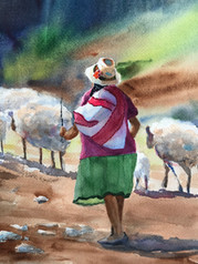 Honorable Mention- Sheep Herder