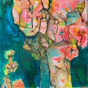 Fantasy Flowers in a Vase