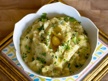 Mashed Rutabaga Cauliflower