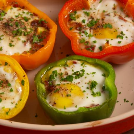 Pepper Egg-in-a-Hole
