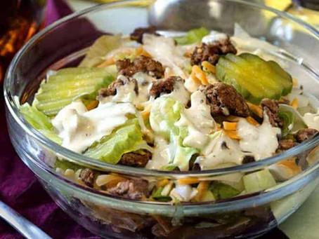 Big Mac Salad | Low Carb Hamburger Salad