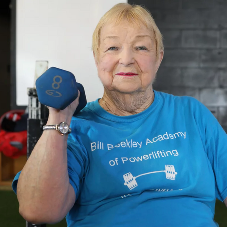 Edith Murway: The 99 Year-Old Record-Breaking Weightlifter
