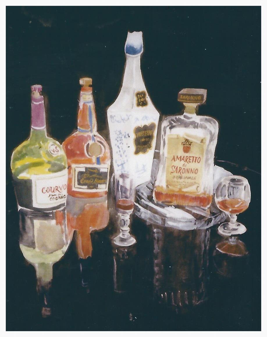 Liquor Bottles No. 2