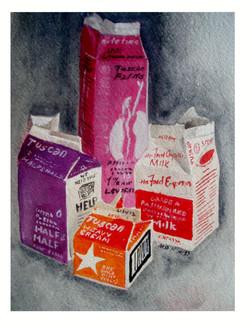 Milk and Cream Cartons