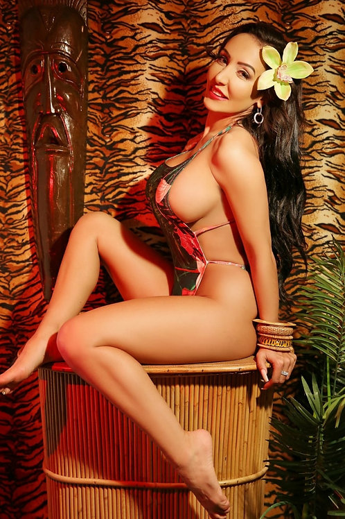Signed Limited Edition Tiki GiGi poster
