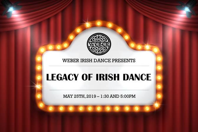 Weber Irish Dance Concert 2019!