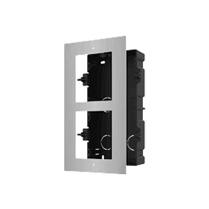 DS-KD-AFC2/S Modulaire intercom inbouwframe 2 modules