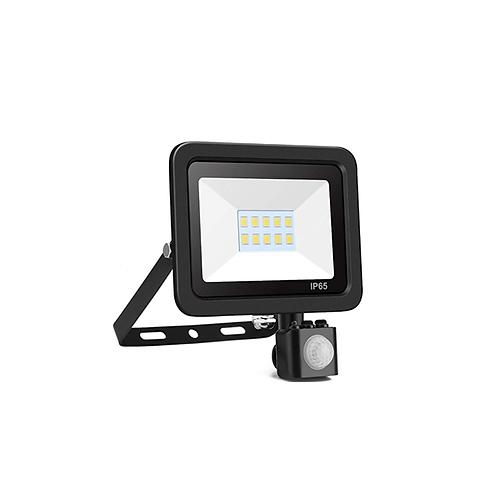 Led buitenlamp met sensor 10W warm-wit