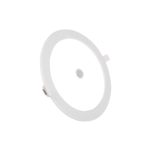 LED E6 SLIM DOWN LIGHT 12W 6000K-PIR SENSOR (Cutout:155mm)