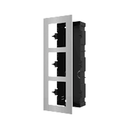 DS-KD-AFC3/S Modulaire intercom inbouwframe 3 modules
