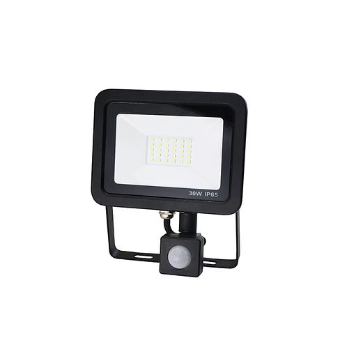 Led buitenlamp met sensor 30W neutraal-wit