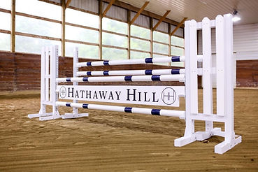 Hathaway Hill horse jumps