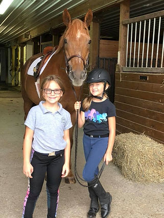 Katelyn and Bella