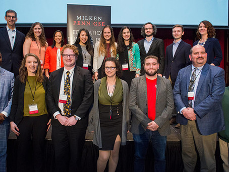 MentorPro arrasa en la competencia Milken-Penn GSE Education Business Plan Competition