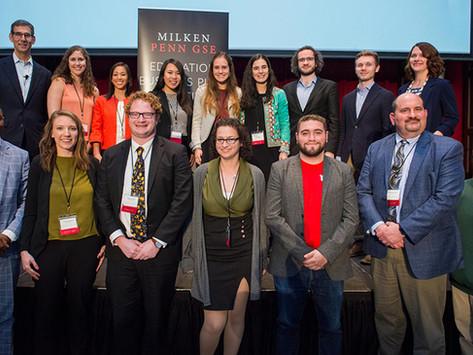 MentorPro arrasa en la competencia Milken-Penn GSE Education Business Plan Competition
