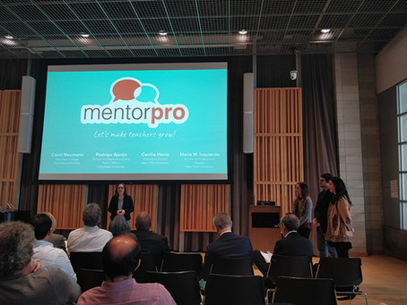 MentorPro finalist in Columbia Venture Competition (CVC), NYC