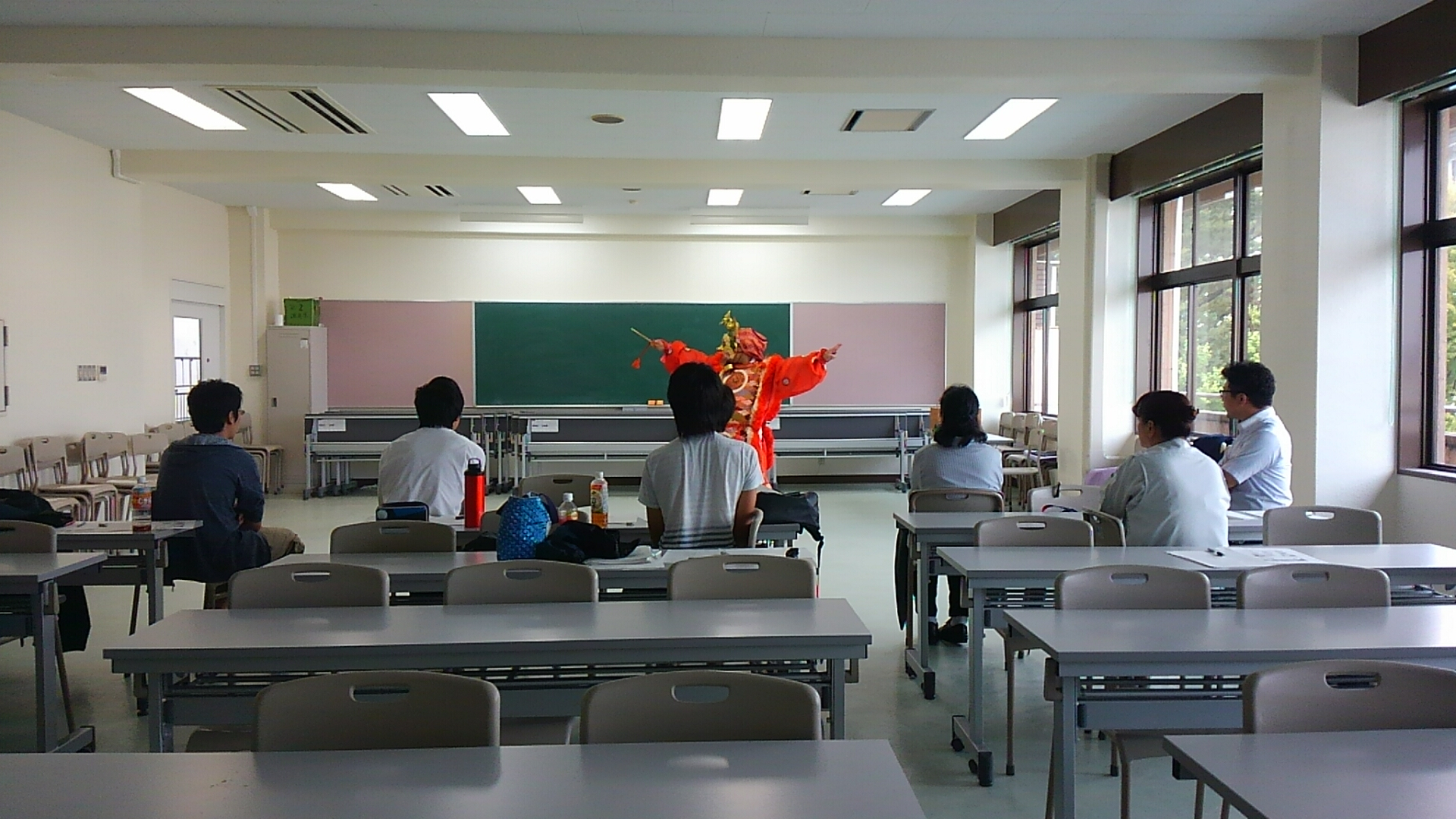 国立工業高等専門学校での雅楽授業